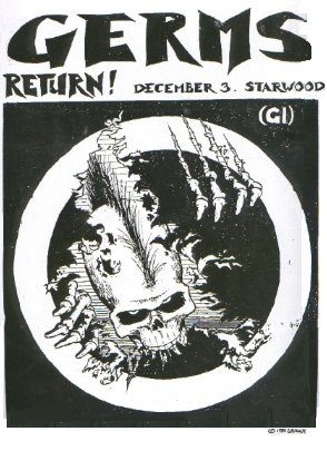 'GERMS RETURN!' STARWOOD DEC 3 1980, BY SHAWN KERRI