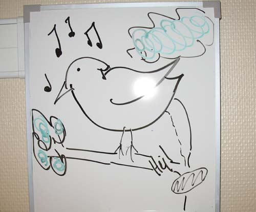 Funny Dry Erase Board Drawings on my White Board